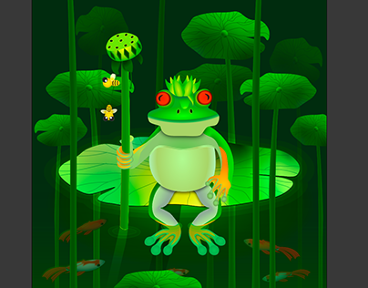 The Court of the Frog King