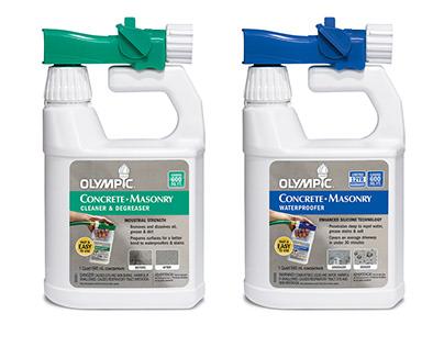 Olympic Concrete Waterproofer & Sealer Packaging