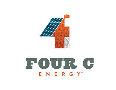 Four C Energy™ – Logo & Stationery Design