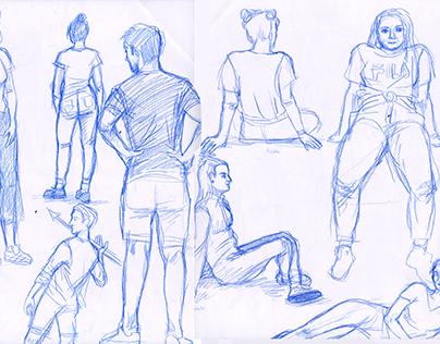 Figure drawing   studies