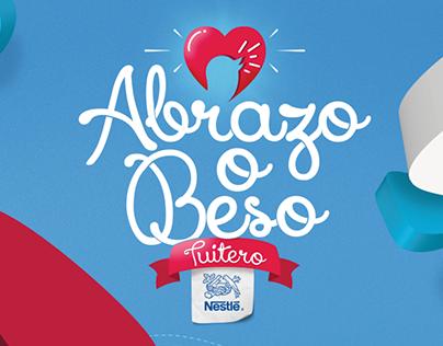 Abrazo o Beso Tuitero - Campaña Amor y Amistad