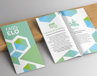 Flyer FAQ's with Iconography