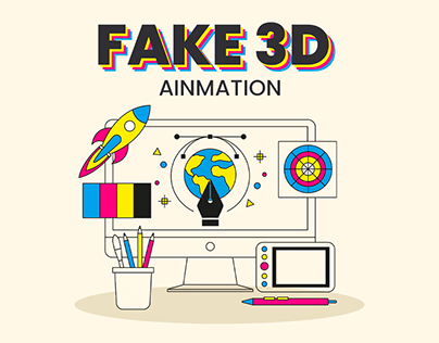 Fake 3D Ainmation