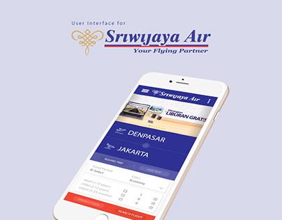UI/UX: Sriwijaya Air Apps