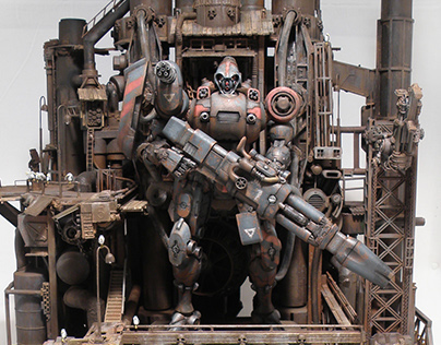 "ARMARAUDERS KALLAMITY CUSTOM ""The Red Hunter"""