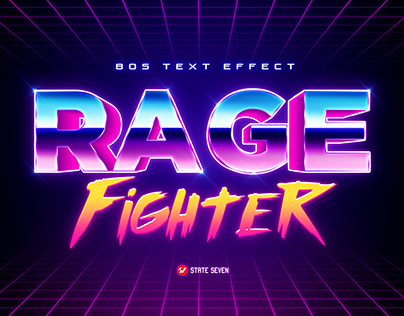 80's Text Effects