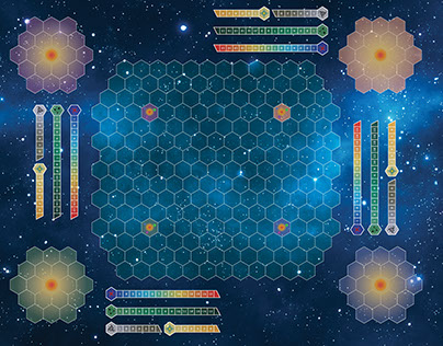 Stellar Projection - The Board Game