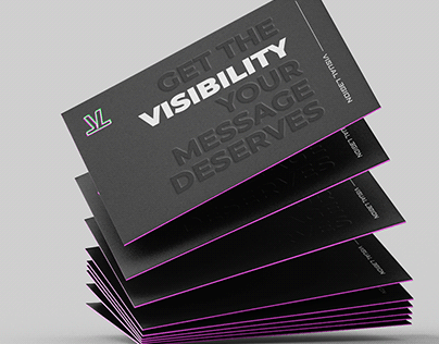 Rebranding for Visual Legion 2019 - A fresh dark theme.