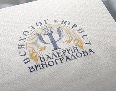 Logo for private lawyer. LOGOFABRIKA.RU