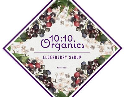 10:10 Elderberry Syrup Illustration