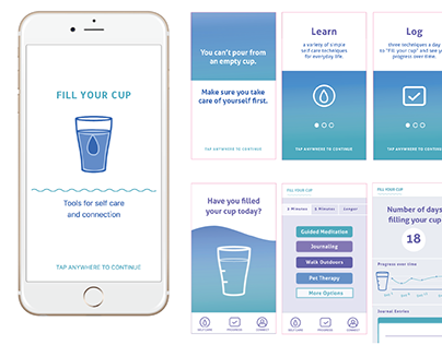Self Care App for Families affected by Opioids