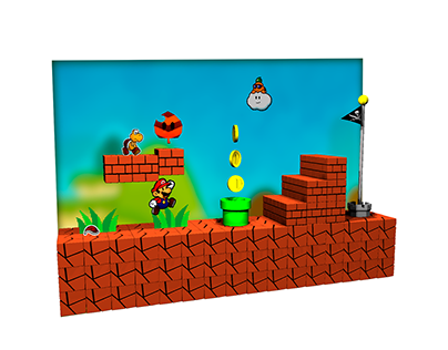 Mario paper 3D World