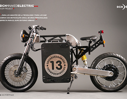DCH1 Naked Electric Motorcycle