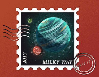 Planetary Post Stamp