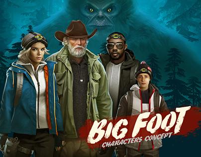 BIG FOOT | characters concept