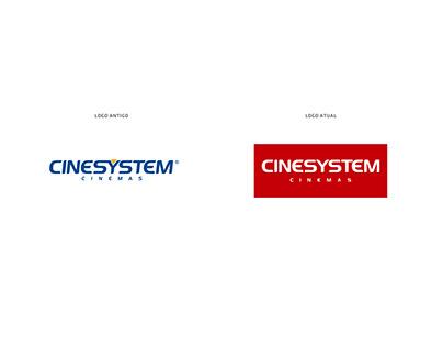 Branding • Readequação de Marca - Cinesystem