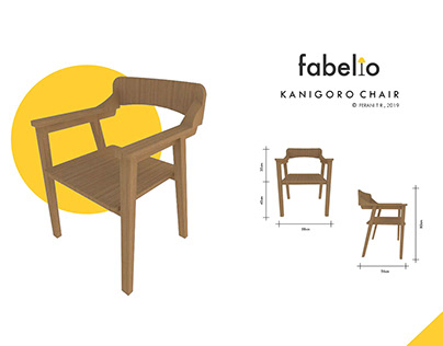 3D Chair Presentation for Fabelio