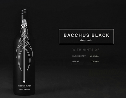 Bacchus Black Wine