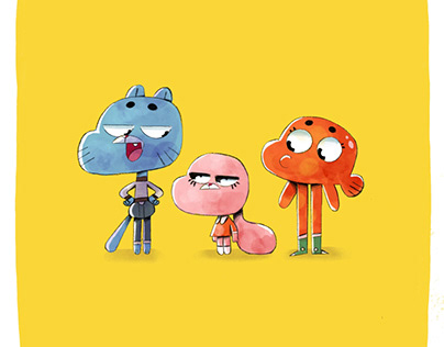 THE AMAZING WALL OF GUMBALL