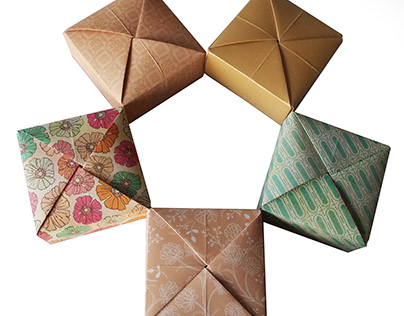 Origami boxes 2