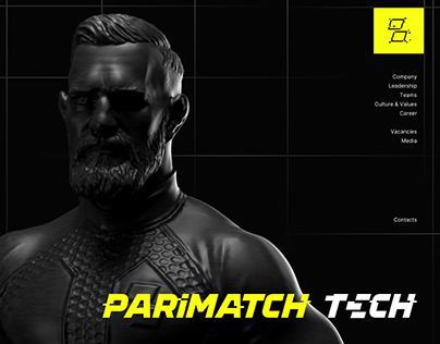 Parimatch Tech – website