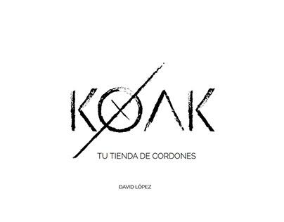 Koak. Proyecto de Identidad Corporativa