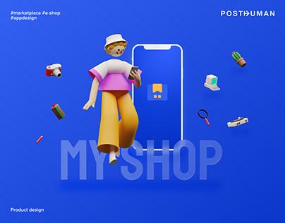 MyShop Marketplace App