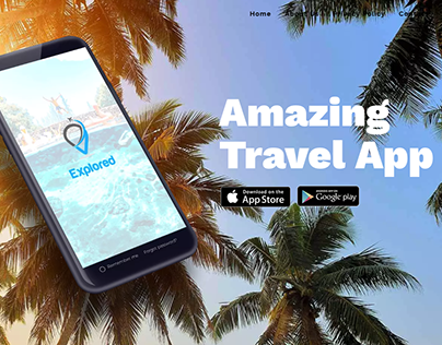 Explored App - Website & App