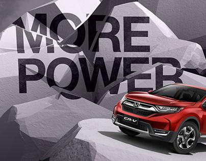Honda CR-V Campaign