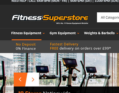 fitness-superstore redesign