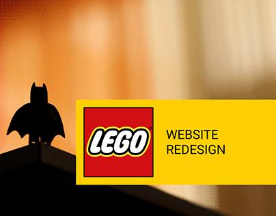LEGO - Website Redesign