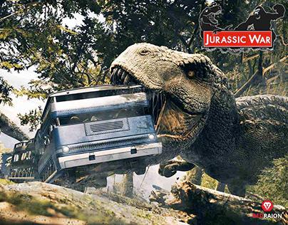 Jurassic War Experience