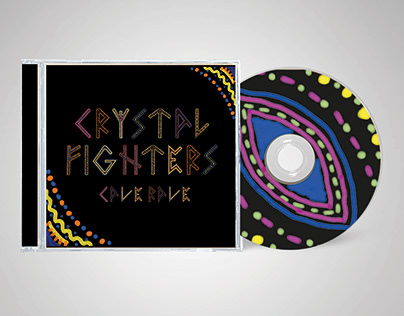 Portada CD Crystal Fighters - Cave Rave
