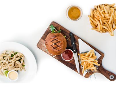 Food Menu App email newsletter template