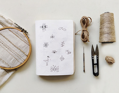 Jute Embroidery
