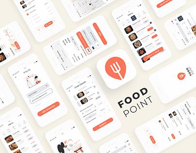 Food Point - Food Pre-order Mobile App