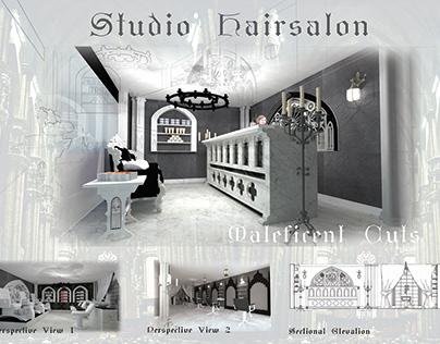 2nd Yr Project - Hair salon