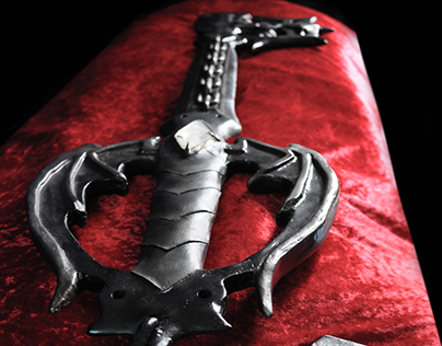Espada Oblivion - Keyblade de Kingdom Hearts escala 1/1