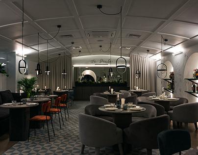 La Scala restaurant / realised
