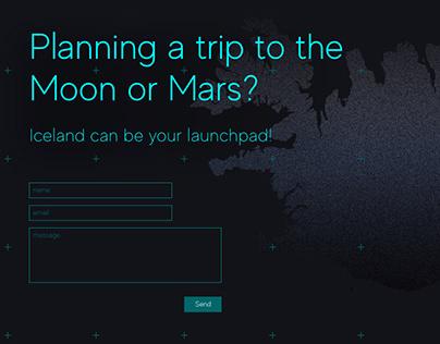 Redesign of ISA website
