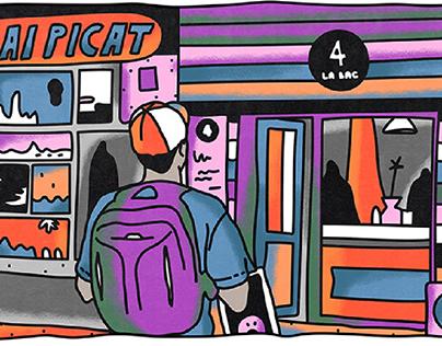 Școala9 - illustrations De ce se tem elevii?