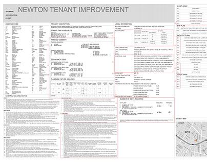 Full drafting development for permit