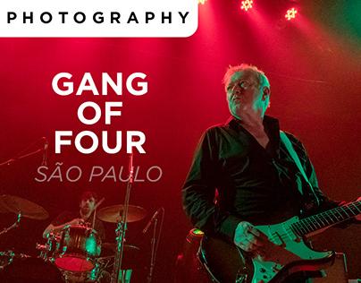 Gang Of Four - São Paulo