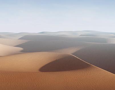3D DESERT SCENES