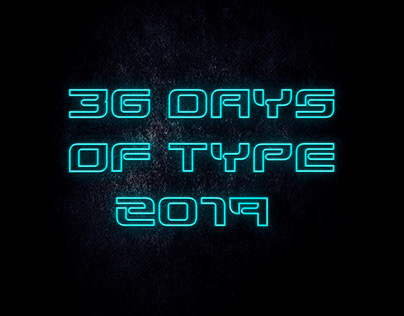 36 Days Of Type 2019 + Free Typography Download
