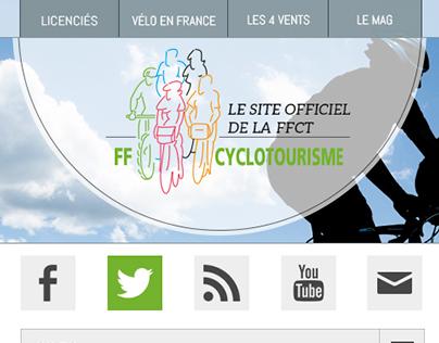 Web design Fédération Française de cyclotourisme