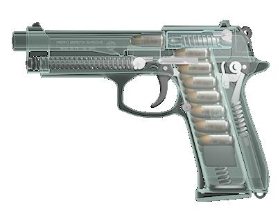Beretta 92FS XRay