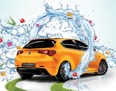 Rebranding Diamond Car Spa