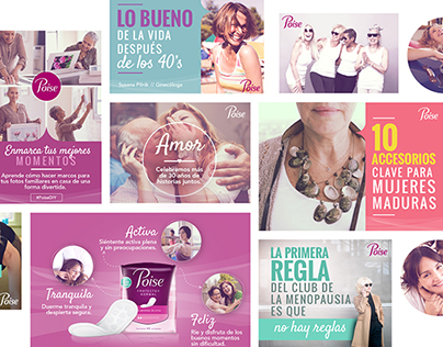 Plenitud & Poise Latam / Social Media Look & Feel