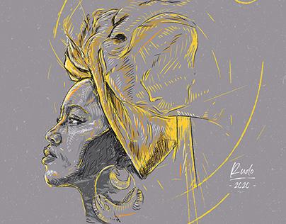 Mpho Sebina Portrait